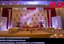 Best Wedding Stage Candle Walls Setup