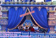 Bollywood Wedding Peacock Mandap France