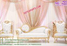 Elegant Muslim Wedding furniture Set UK