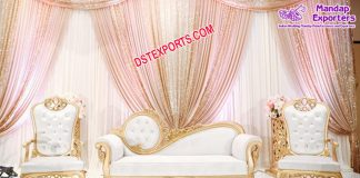 Elegant Muslim Wedding furniture Set UK
