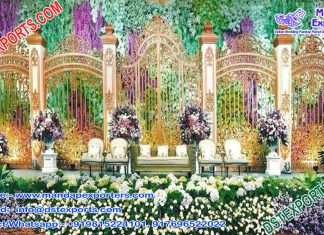 Exclusive Wedding Gate Designed Back-Walls