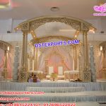 Exclusive Wedding Tri Pillars Wooden Mandap