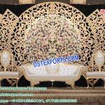 Glorious Wedding Golden Fiber Panel London