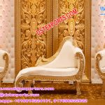 Asian Wedding White-Gold Furniture for sale