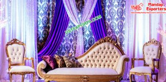 Gorgeous Wedding Event Italian Sofa Set