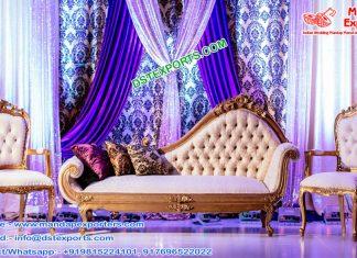 Gorgeous Wedding Event Italian Sofa Set