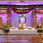 Gujarati Wedding Wooden Paisley Mandap