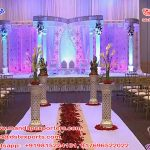 Hindu Wedding Butterfly Designed Crystal Mandap