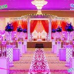 Latest Wedding Diamond Crystal Mandap New York