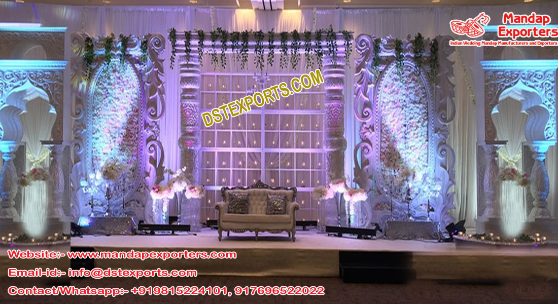 Majestic Wedding Fiber Stage London