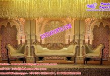 Muslim Wedding Fiber 3D Back-Frames London