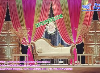Muslim Wedding Mehndi Function Stage London