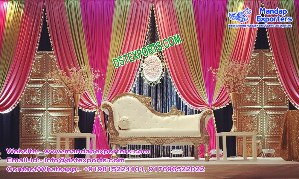 Muslim Wedding Mehndi Function Stage London