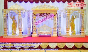Rajasthani Wedding Royal Look Stage