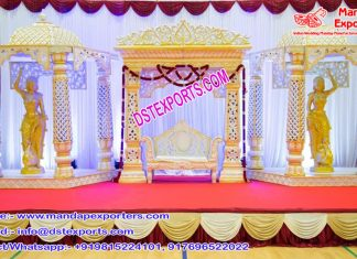 Rajasthani Wedding Royal Look Stage