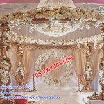 Royal Indian Wedding Wooden Carved Mandap