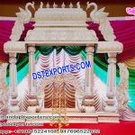 Royal Srilankan Wedding Manavari Mandap