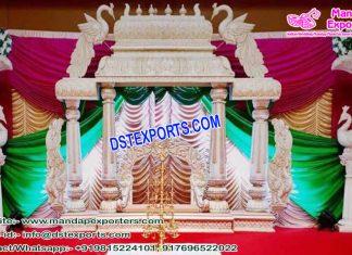 Royal Srilankan Wedding Manavari Mandap