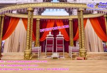 Special Wedding Triple Pole Mandap Germany