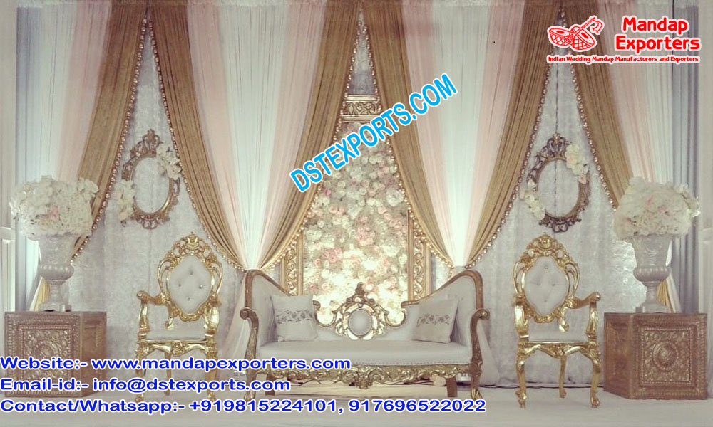 Top Muslim Wedding Chaise and Chairs UK