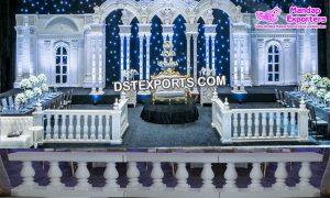 Wedding stage Fiber Balconies Decor Props