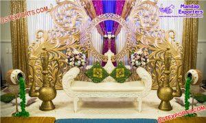Affordable Fiber Paisley Prop for Wedding Decor