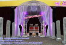 Cheap Wedding Crystal Mandap