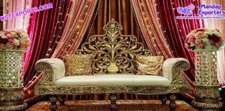 Designer Love Seater for Latest Wedding