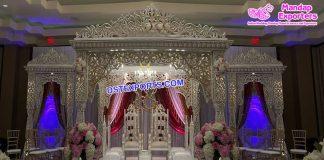 Dreamy Wedding Bollywood Mandap Melbourne