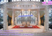 Elegance Hindu Wedding Fiber Mandap Decoration