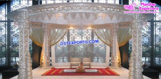 Elegance Hindu Wedding Fiber Mandap Decoration