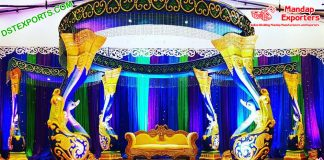Eminent Wedding New Peacock Mandap USA