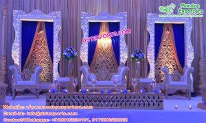 Eminent Wedding Silver Fiber Back-Frames Panels