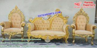 Grand Maharaja Wedding Furniture Set