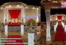 Impressive Wedding Crystal Plazzo Mandap USA
