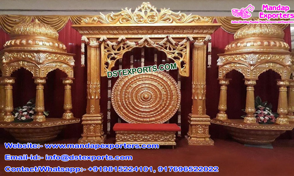 Latest South Asian Wedding Stage Decor