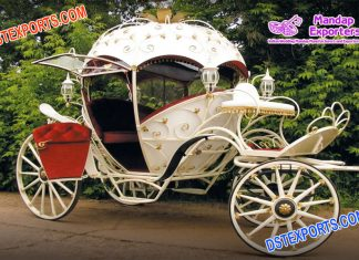 Luxurious Princess Wedding Cinderella Carriage Buggy