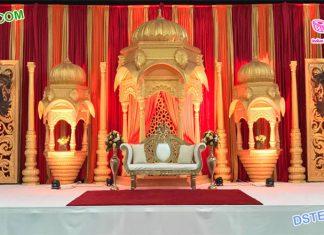 Majestic Srilankan Wedding Stage Setup