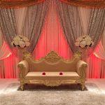 Muslim Wedding Event Stage Furniture Set