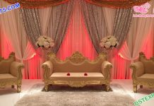 Muslim Wedding Event Stage Furniture Set