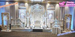 Royal Wedding Event Reception Stage London