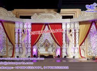 Traditional Wedding Padmavati Stage USA