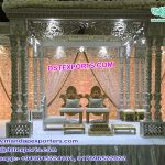 Wedding Triple Pillar Raj Mahal Mandap USA