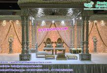 Wedding Triple Pillar Raj Mahal Mandap USA