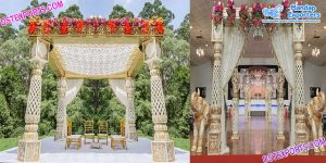 Latest Bollywood Mandap for Top Weddings