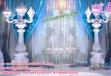 Arabian Wedding Decor Five Arms Moroccan Lamps