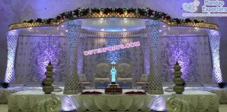Best Wedding Diamond Palazzo Mandap USA
