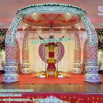 Designer Elephant Tusk Wedding Mandap Singapore