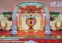 Designer Elephant Tusk Wedding Mandap Singapore