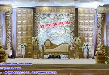 Exclusive Hindu Marriage Event Stage Setup